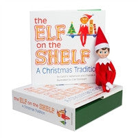 The Elf on the Shelf: Blue Eyed Boy Elf