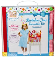 Elf on the Shelf Birthday Chair Decoration Kit