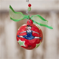 Glory Haus Cheerleading Ball Ornament