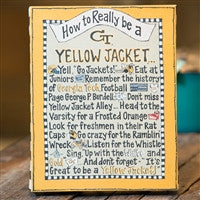 Glory Haus How To be A Yellow Jacket Table Top