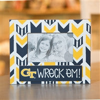 Glory Haus Georgia Tech Wreck'em Arrow Frame