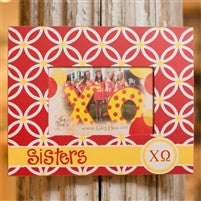 Glory Haus Chi Omega Sisters Frame
