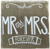 Glory Haus Mr. and Mrs. Forever Sign