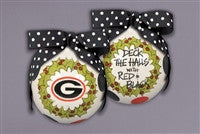 Magnolia Lane UGA Deck the Halls Ornament