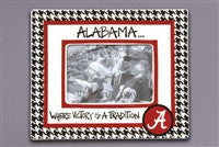 Magnolia Lane Houndstooth Alabama Frame