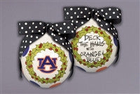 Magnolia Lane Auburn Deck the Halls Ornament