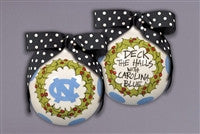 Magnolia Lane UNC Deck the Halls Ornament