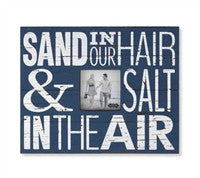 Mud Pie Sand In Our Hair Frame