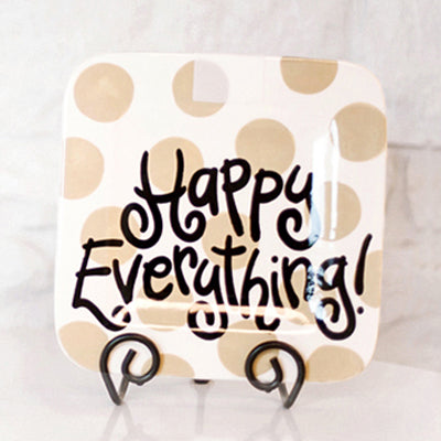 Coton Colors Happy Everything Mini Platter Neutral