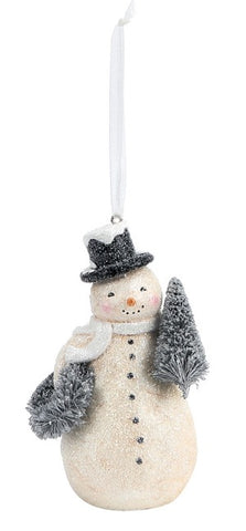 DEMDACO 2020190446 Winter Wishes Snowman Ornaments