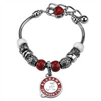 University of Alabama Charm Bracelet