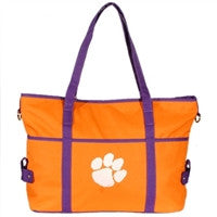 "Clemson University ""The Jamie"" Handbag"