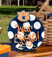 Coton Colors Auburn Collegiate Celebrations 11in Platter