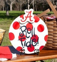 Coton Colors Alabama Collegiate Celebrations 11in Platter