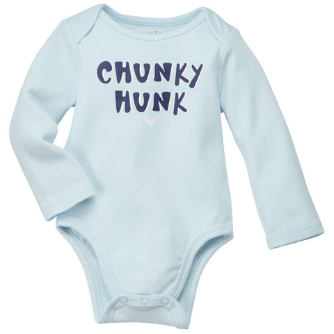 Mud Pie MP 11030151C Chunky Hunk Crawler 0-6 Months