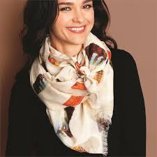 Two's Company TC 21616-20 Feather Scarf Assorted 2 Colors