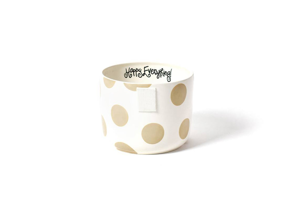 Coton Colors CC-MINI-BWL-NEU Neutral Dot Happy Everything Mini Bowl