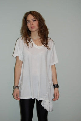 Julie Park Box Tee - Batyana Boutique  - 2