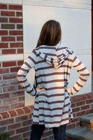 Midi Stripe Cardigan - Batyana Boutique  - 3