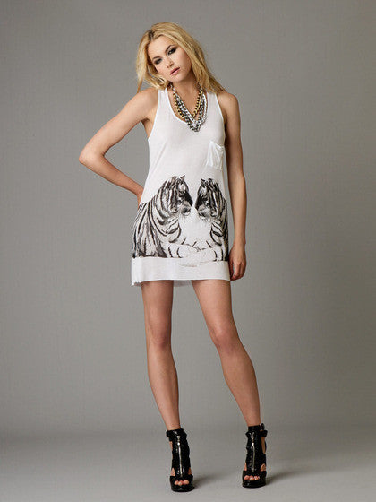 Torn by Ronny Kobo - Ari Bengali Tigers Tank Top - Batyana Boutique  - 1