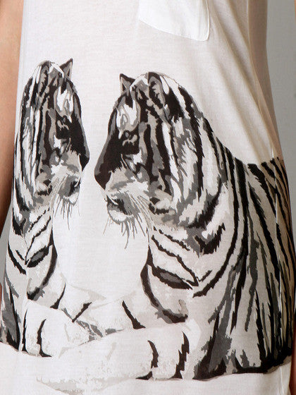 Torn by Ronny Kobo - Ari Bengali Tigers Tank Top - Batyana Boutique  - 2