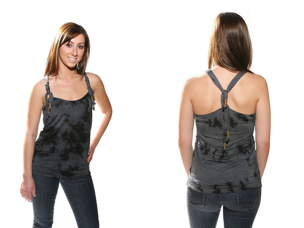 Torn by Ronny Kobo - Cheyenne Tie Dye Tank Top - Batyana Boutique  - 1
