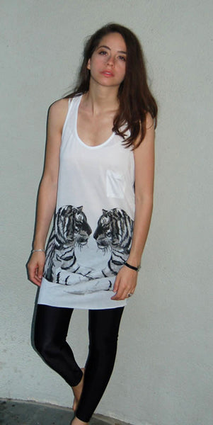 Torn by Ronny Kobo - Ari Bengali Tigers Tank Top - Batyana Boutique  - 4