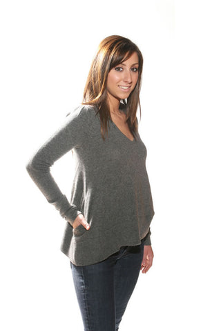 Twig Charcoal Avery Sweater - Batyana Boutique  - 1