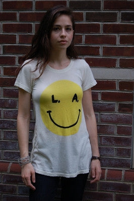 Wildfox Couture - Smile Crew Neck Tee - Batyana Boutique  - 1
