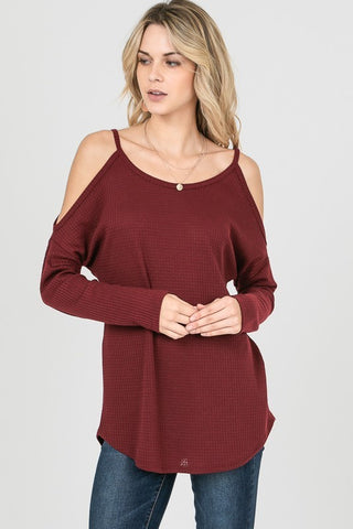Merlot Open Shoulder Thermal