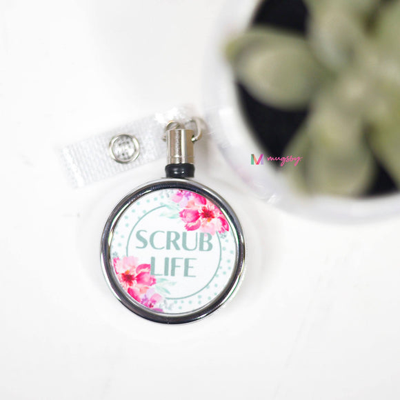 Scrub Life - Badge Holder