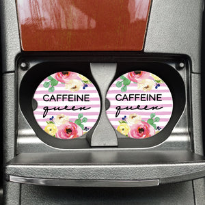 Car Coaster - Caffeine Queen