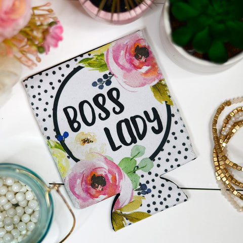 Boss Lady - Koozie