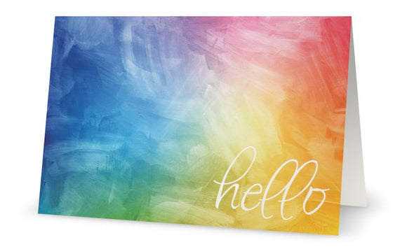 Hello - Greeting Card