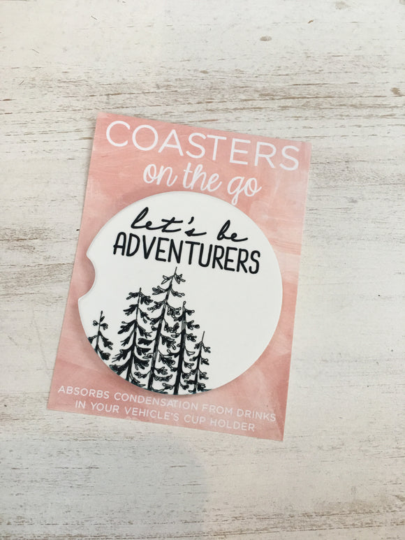 Car Coaster - Let's Be Adventurers