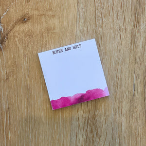 Notes & Shit - Sticky Notes