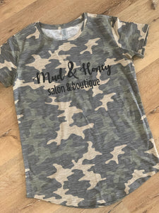 Mud & Honey Camo Tee