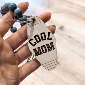 Cool Mom - Motel Keychain