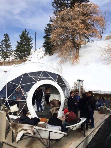 heated furniture snow igloo park city heated seat