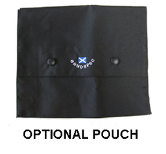 Inverness cape pouch