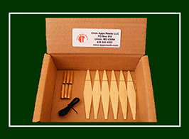 Apps DIY chanter reed kit