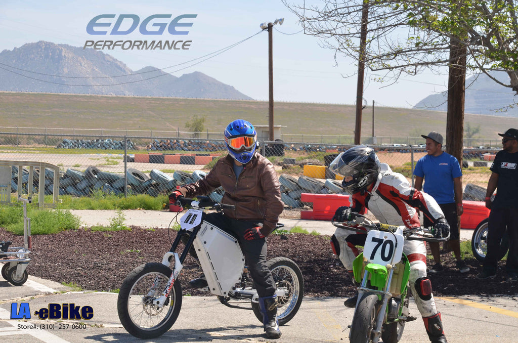 LA Ebike / Edge Racing on the Track!