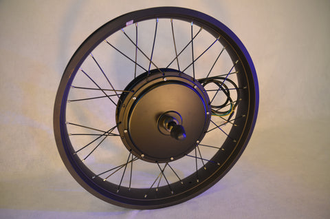 "EDGE 1500W 24""x 3 Direct drive Rear Hub Motor"