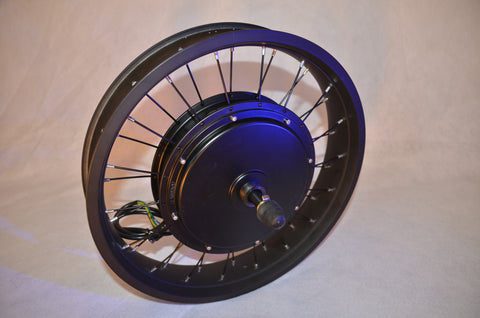 "EDGE 1500W 20""x 4 Fat Rim Direct drive Rear Hub Motor"