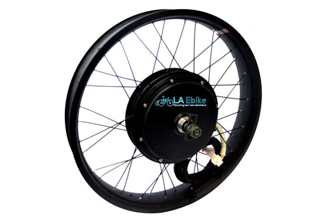 "QS 3000W V3 24"" x 3  with  5T Rear Hub Motor lace is extra"