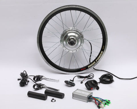 "36V 350W 26"" Geared Front Hub Motor Kit"