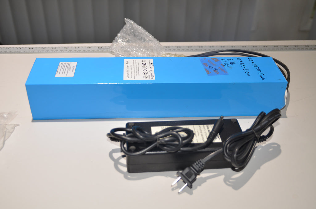 Service Battery Charging System >> 36v 18650 15AH Ebike Lithium-Ion Battery Pack With Charger – LA eBike