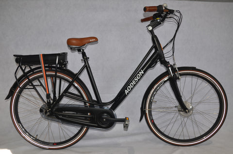 Electric Step-Thru City Commuter Style Bike, Aodeson TM705