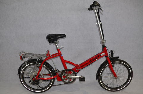 Busettii Electric Folding Bike 48v/10ah
