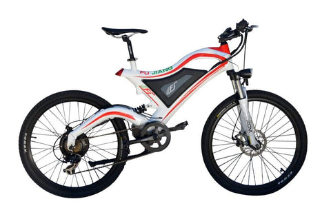 36V Full Suspension Electric Mountain Bike